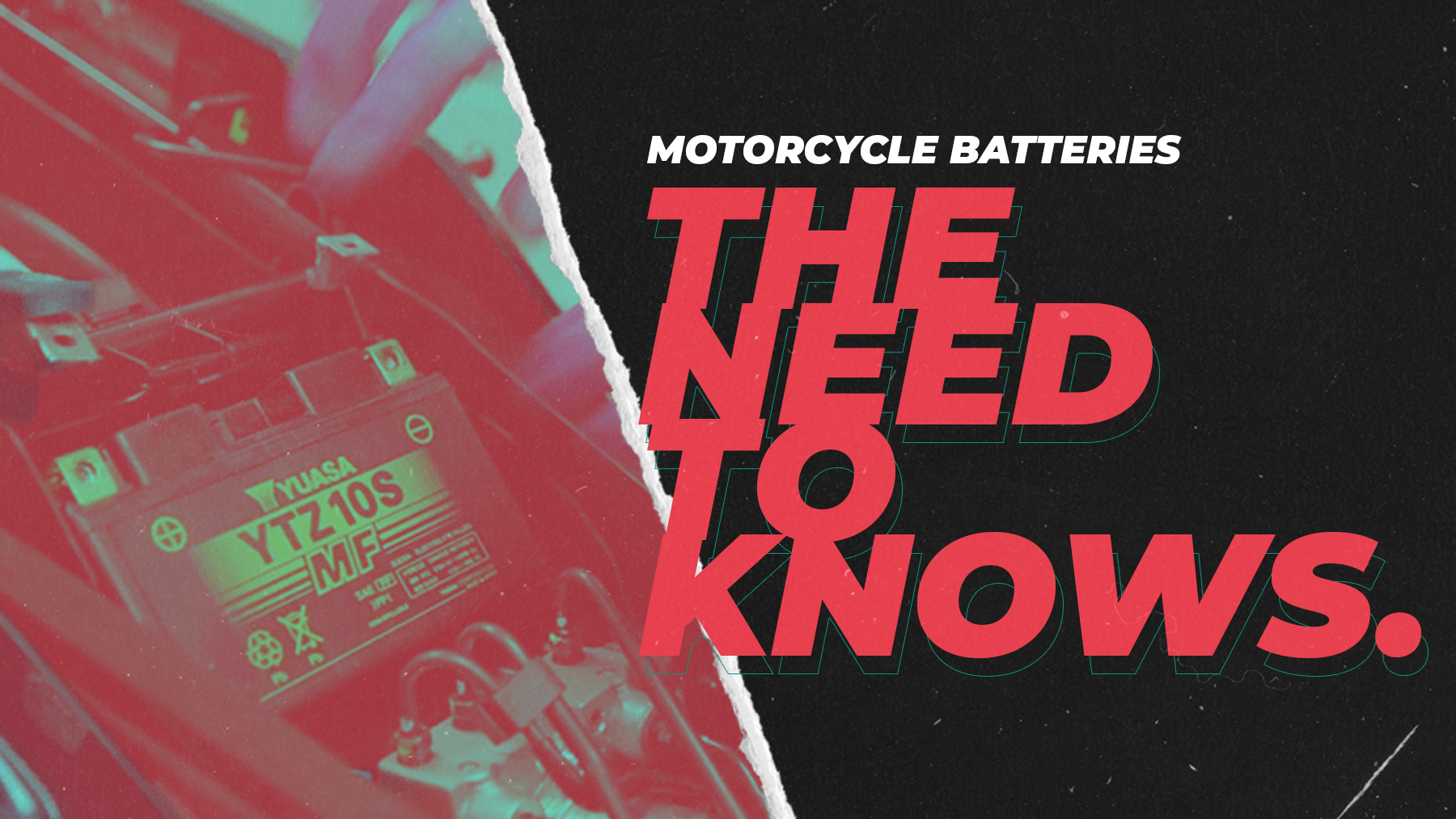 Motorcycle Batteries: The Need-To-Knows
