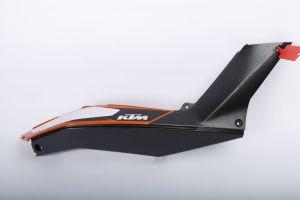 KTM Duke 125 / 200 / 390 Right Hand Upper / Lower Cowl Fairing - 2011-2019