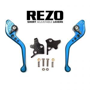 REZO Adjustable Short Brake & Clutch Levers - Sinnis Apache (SMR) 125/Blade 125