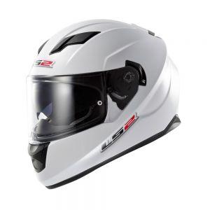 LS2 FF320 Stream Full Face Motorcycle Helmet Gloss White - S / Small