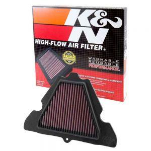 K&N High-Flow Performance Air Filter KA-1111 - Kawasaki ZX-10R, Z1000 & More