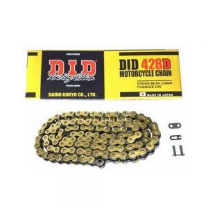 DID 420x112 - Standard Drive Chain Gold/Black