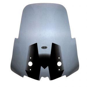 IBX Transparent Motorcycle Dark Screen 53cm For Kawasaki Versys 650 1000 - 15-18