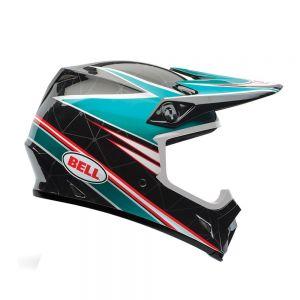 Bell MX-9 Airtrix Paradise  Motorcycle Helmet - XL