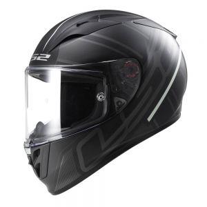 LS2 FF323 Arrow R Ion Full Face Motorcycle Helmet Black Titanium - XS