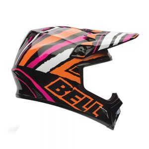 Bell MX-9 Scrub Pink Motorcycle Helmet - XL