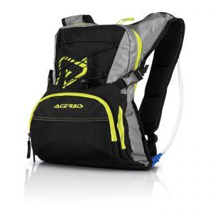 Acerbis H20 Drink Back Pack 10L - Black/Yellow