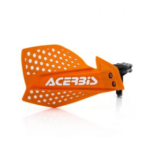 Acerbis X-Ultimate Handguards Orange and White