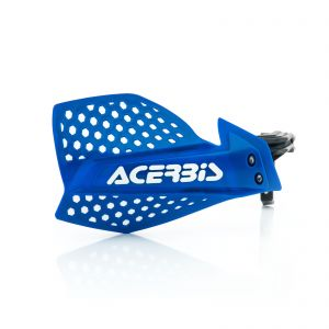 Acerbis X-Ultimate Handguards Blue and White