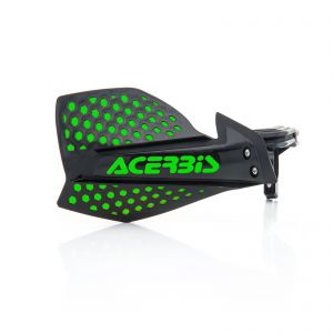 Acerbis X-Ultimate Handguards Black and Green