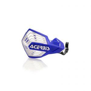 Acerbis K-Future YKS Handguards Blue and White - KX250/KX450/YZ125/250/450