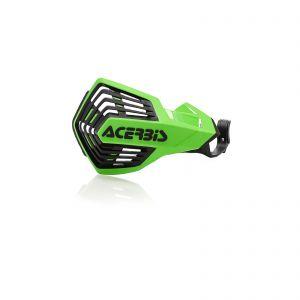 Acerbis K-Future YKS Handguards Green and Black - KX250/KX450/YZ125/250/450