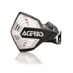 Acerbis K-Future HH Handguards Black and White - Honda CRF 450R