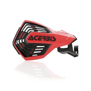 Acerbis K-Future HH Handguards Red and Black - Honda CRF 450R