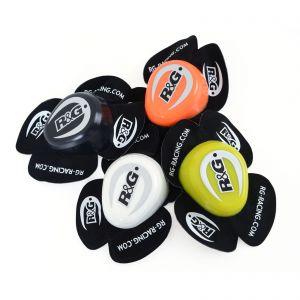 R&G Racing Aero Knee Sliders - (Black, Orange, White, Yellow)