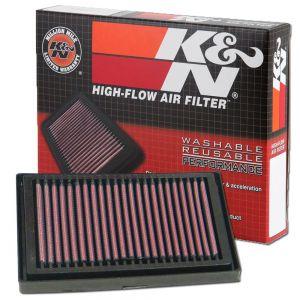 K&N Reusable High-Flow Performance Air Filter - AL-1004