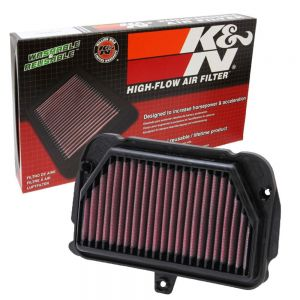 K&N Reusable High-Flow Performance Air Filter - AL-1010