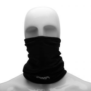 ARMR Winter Fleece Lined Multi-functional Thermal Neck Tube in Black