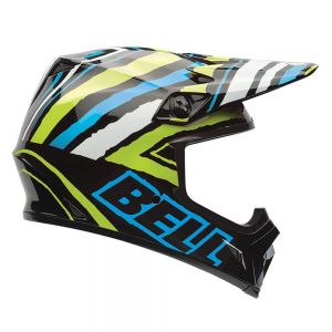 Bell MX-9 Psycho Scrub Motorcycle Helmet - XL