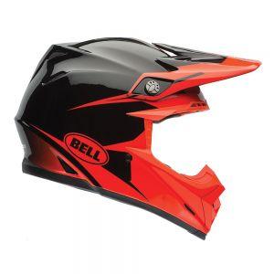 Bell Moto-9 intake Infrared  Motorcycle Helmet - XXL