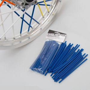 GP Pro Supermoto Spoke Coats - Blue 18CM 40pk