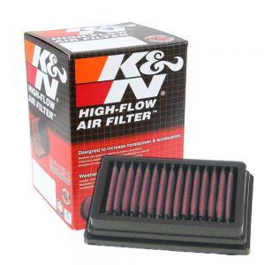 K&N Reusable High-Flow Performance Air Filter - BM-1204