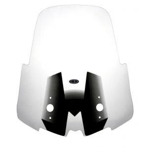 IBX Transparent Motorcycle Clear Screen 53cm - Kawasaki Versys 650 1000 - 15-18