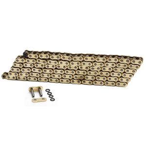 Choho 525 x 110 Heavy Duty Gold/Gold O-Ring Chain With Link