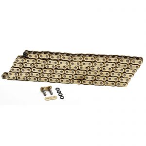 Choho 525 x 108 Heavy Duty Gold/Gold X-Ring Chain With Link