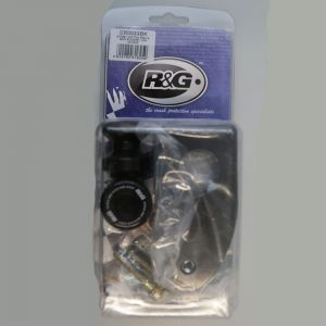 R&G Racing Black M10 Offset Cotton Reels for BMW S 1000 R/RR/XR 2009-2021