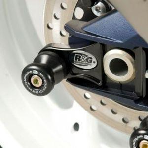 R&G Racing M10 Offset Cotton Reels (Black) - Suzuki GSX-R600 (11-18)