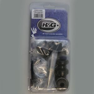 R&G Racing M10 Offset Cotton Reels (Black) - Honda CBR600F (11-14)
