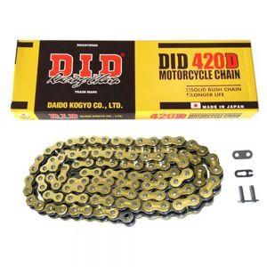 DID 420x106 - Standard Drive Chain Gold/Black