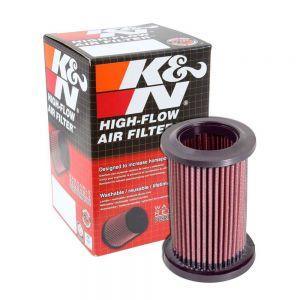 K&N Reusable High-Flow Performance Air Filter - DU-1006