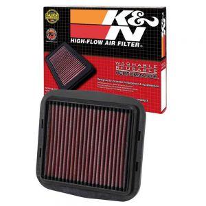 K&N Reusable High-Flow Performance Air Filter - DU-1112