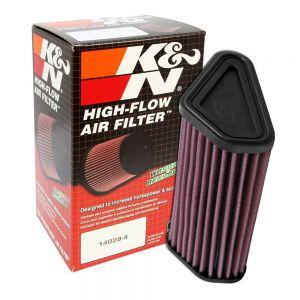 K&N Reusable High-Flow Performance Air Filter - DU-1210