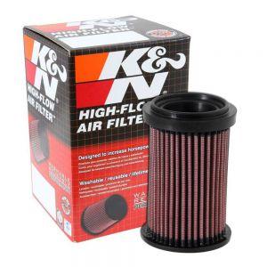 K&N Reusable High-Flow Performance Air Filter - DU-6908