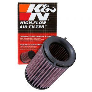 K&N Reusable High-Flow Performance Air Filter - DU-8015