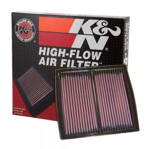 K&N Reusable High-Flow Performance Air Filter - DU-9098