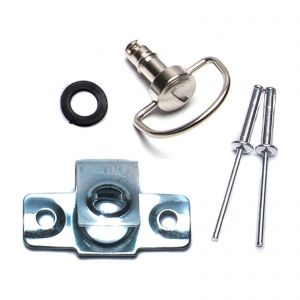 Dzus Fairing D Ring Quick Release 17mm Stud - Pack of 1