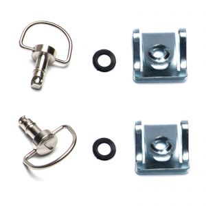 Dzus Fairing D Ring Quick Release 17mm Stud - Pack of 2
