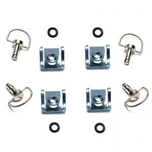 Dzus Fairing D Ring Quick Release 17mm Stud - Pack of 4