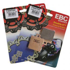 EBC FA047HH Complete Sintered Performance Brake Pad Set