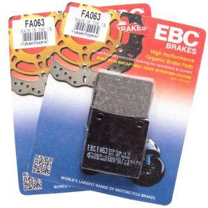 EBC FA063 Replacement Organic Full Front Brake Pad Set