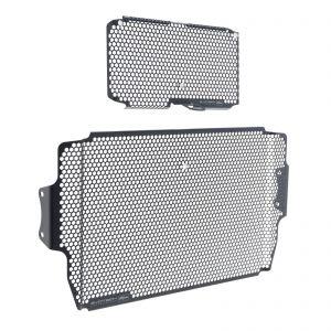 Evotech Radiator + Oil Cooler Guard Set - Ducati Multistrada 1200 15-17