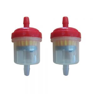 Universal Fuel Filter Type 1 Red x2