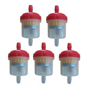 Universal Fuel Filter Type 1 Red x5