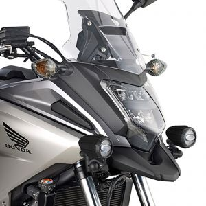 Givi S322 LED Projector Auxiliary Lights & Mounting Kit - Honda NC750 X 16-20