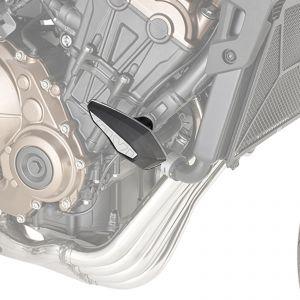 Givi Frame Sliders & Mounting Kit - Black - Honda CB 650 R 19-21