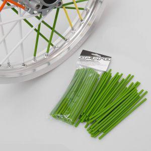 GP Pro Supermoto Spoke Coats - Green 18CM 40pk